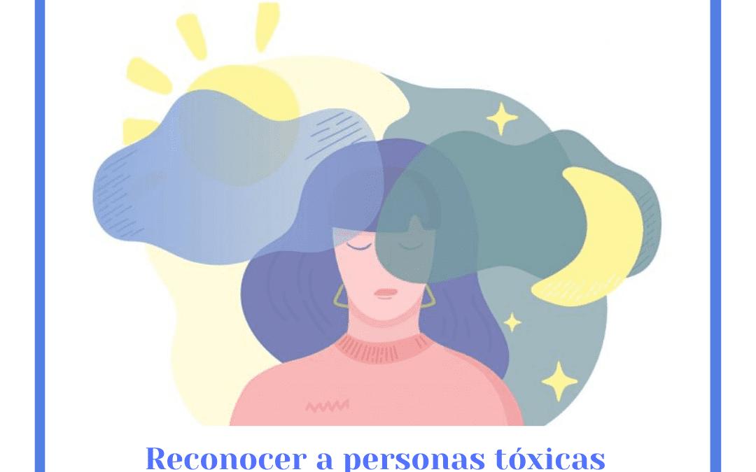 Reconocer personas tóxicas
